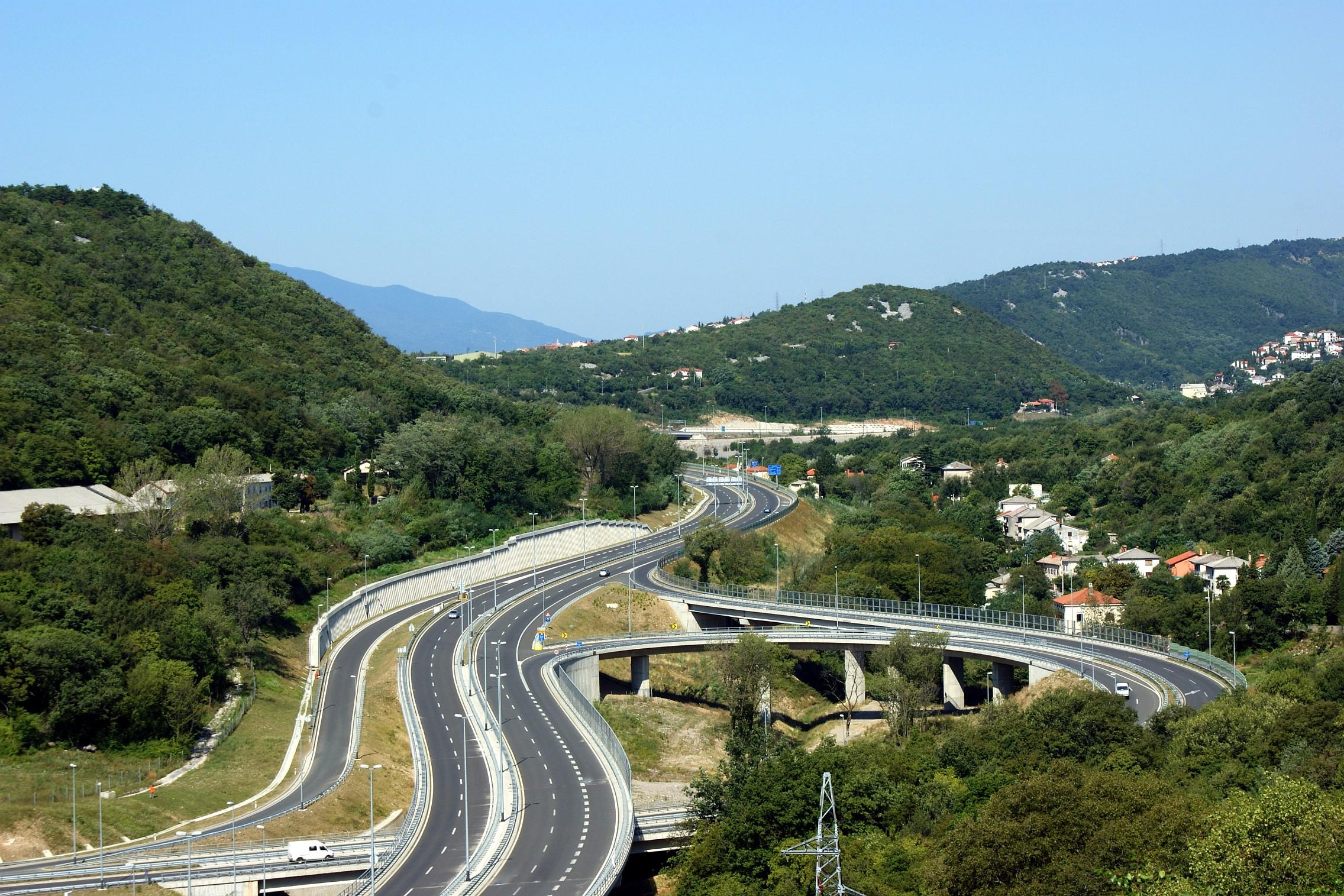 Качество автомобильных дорог Хорватии заслужило высокую международную оценку