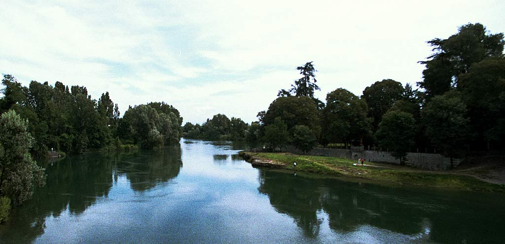 The river Adda from Vaprio d'Adda.