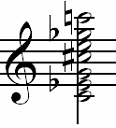 Altered-pitch-chord