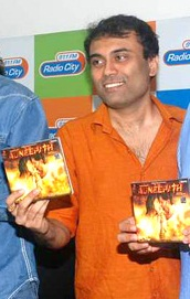 Amitabh Bhattacharya at the Agneepath music launch