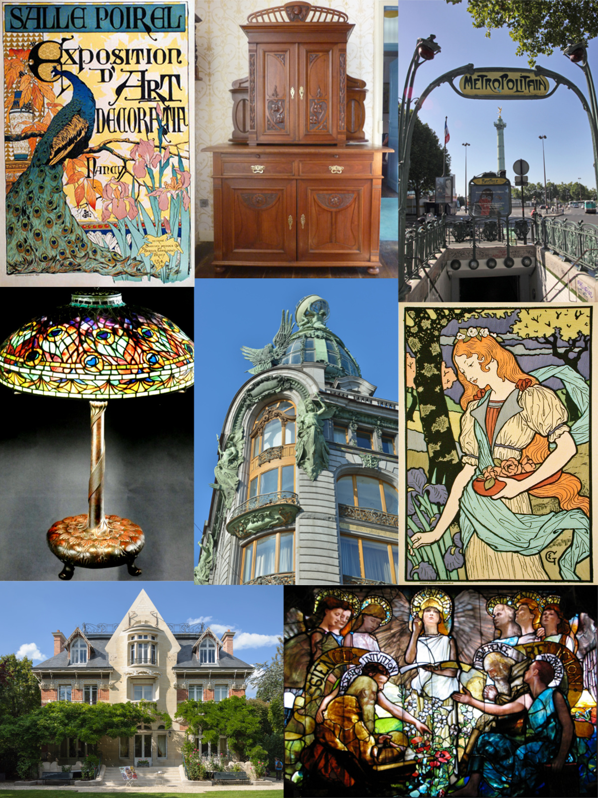 Art nouveau wikiwand for Art et decoration france