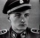 Auke Bert Pattist in SS-uniform