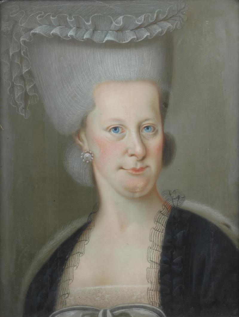 Австрийская школа - Предполагаемый портрет Марии Елизаветы Австрийской.png