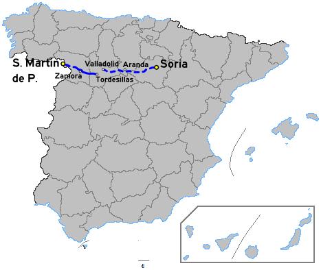 A-80 road (Spain)