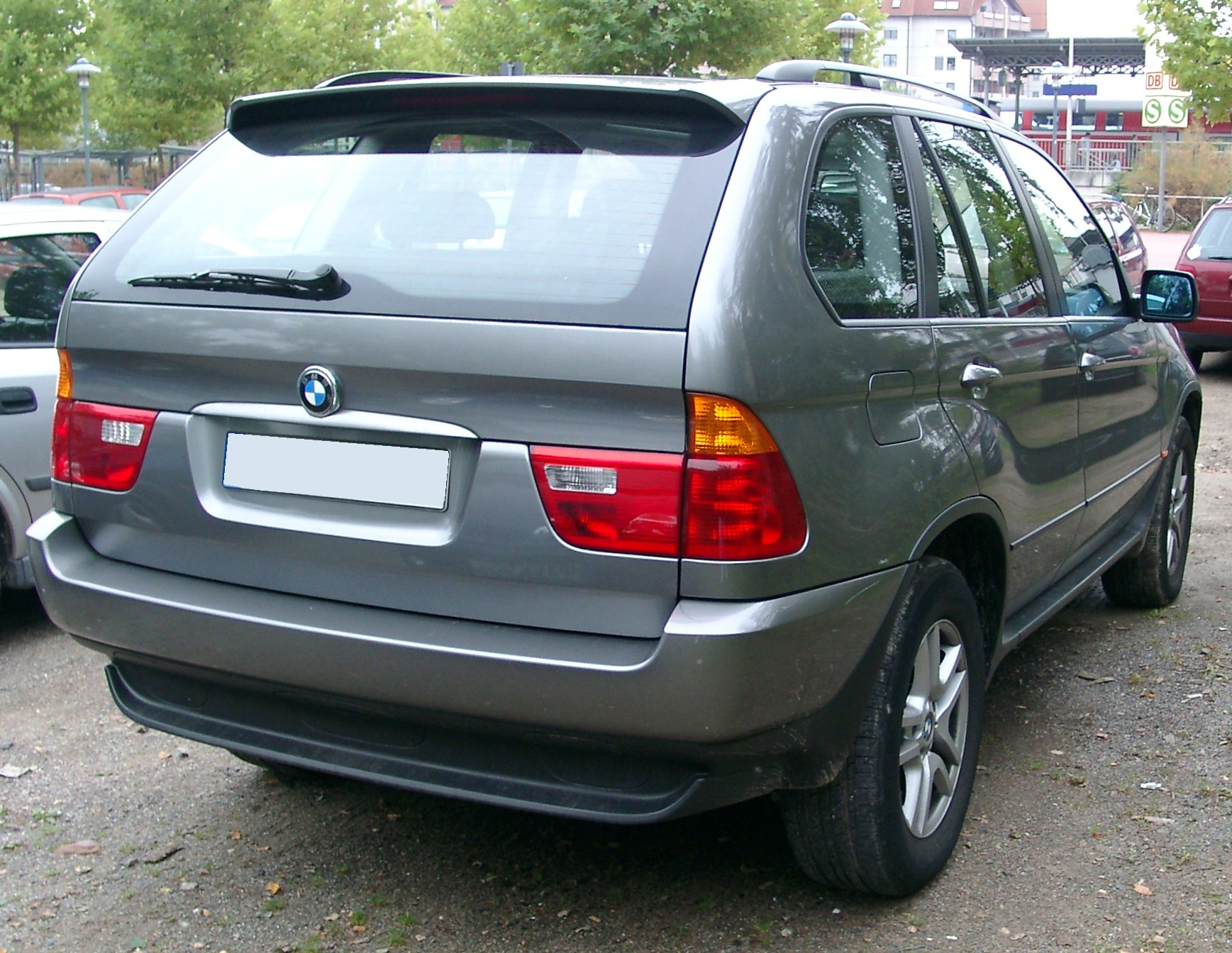 File Bmw X5 Rear 20071002 Jpg Wikimedia Commons