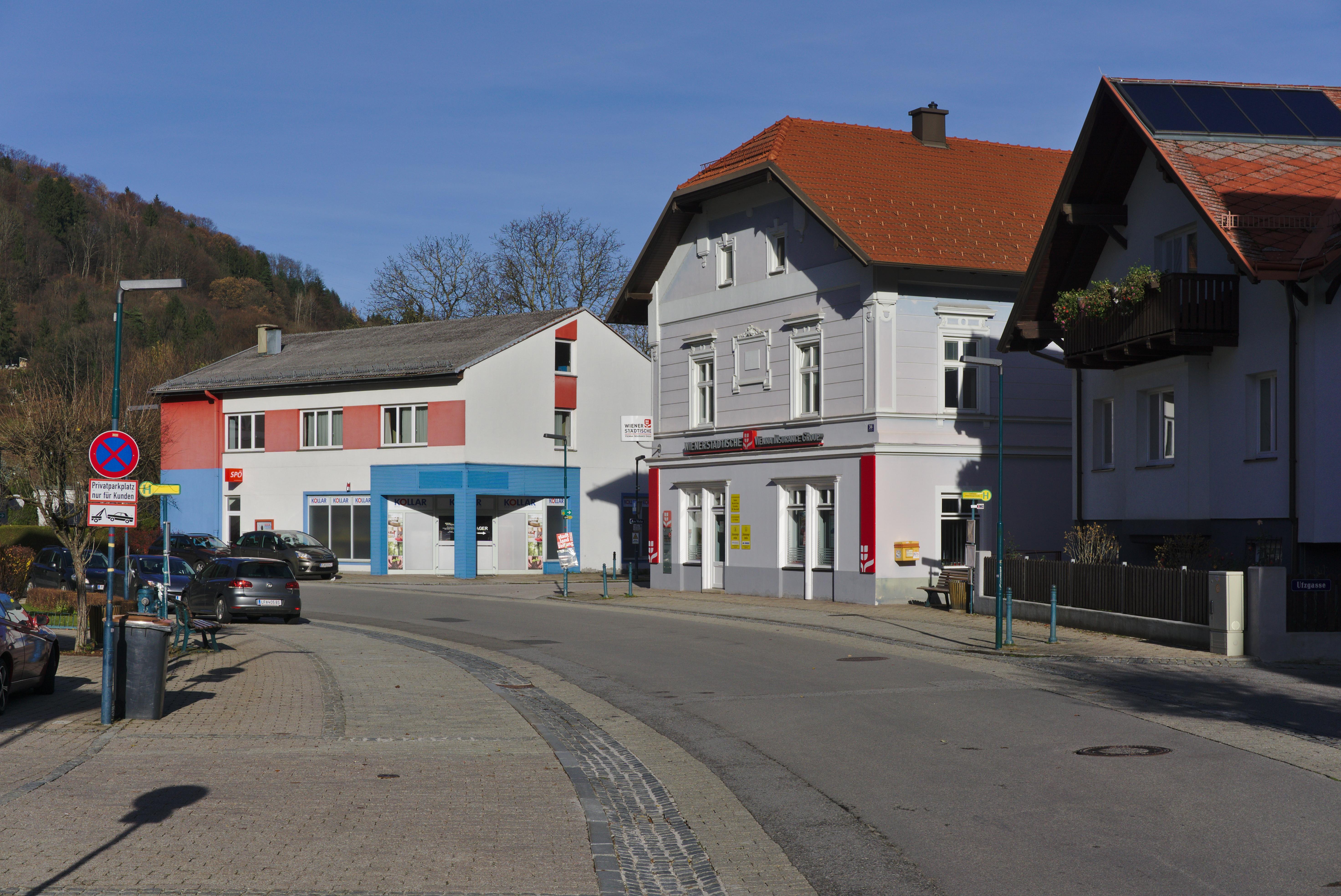 Filebabenbergerstraße Lilienfeldjpg Wikimedia Commons