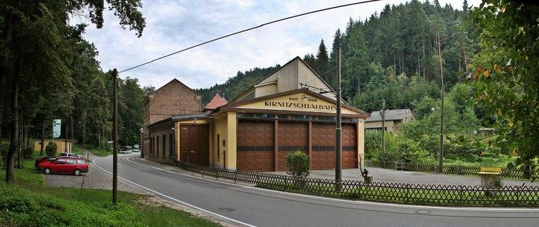 Dateibad Schandau Blick Auf Das Depot Der Kirnitzschtalbahn Geo