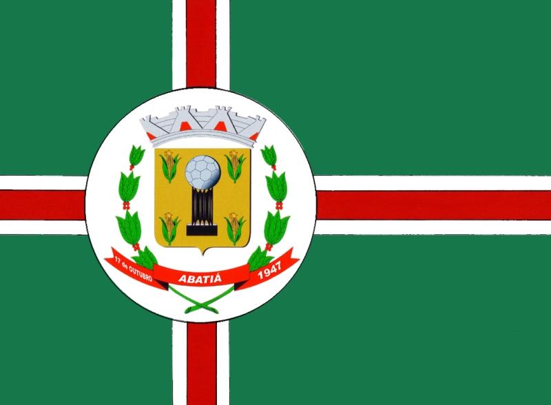 Ficheiro:Bandeira de Abatiá.jpg