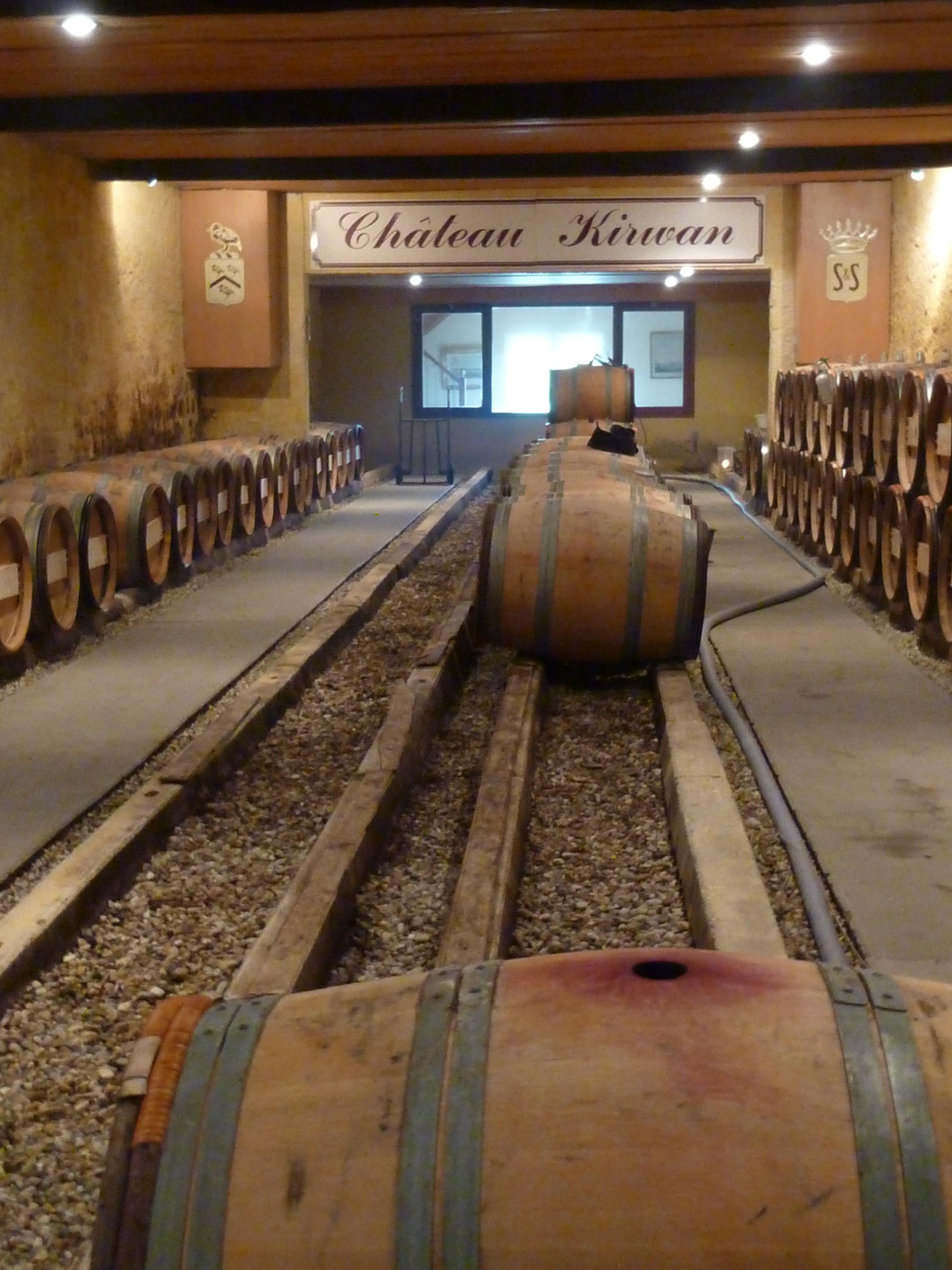 File:Barrel room of Chateau Kirwan.jpg - Wikimedia Commons