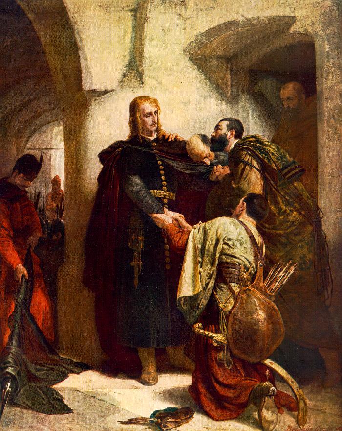 Hunyadi László búcsúja (1866)