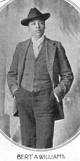 Bert Williams, 1896