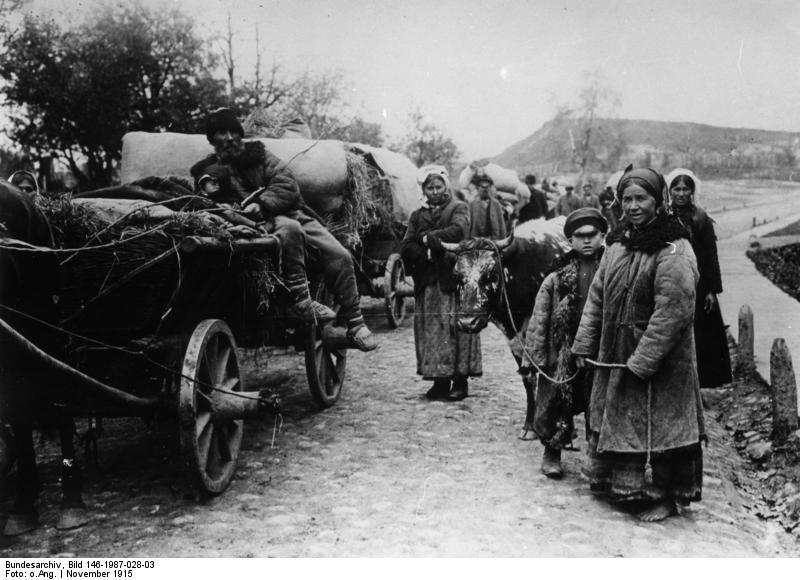 Fájl:Bundesarchiv Bild 146-1987-028-03, Russland, Bauern auf der Flucht.jpg