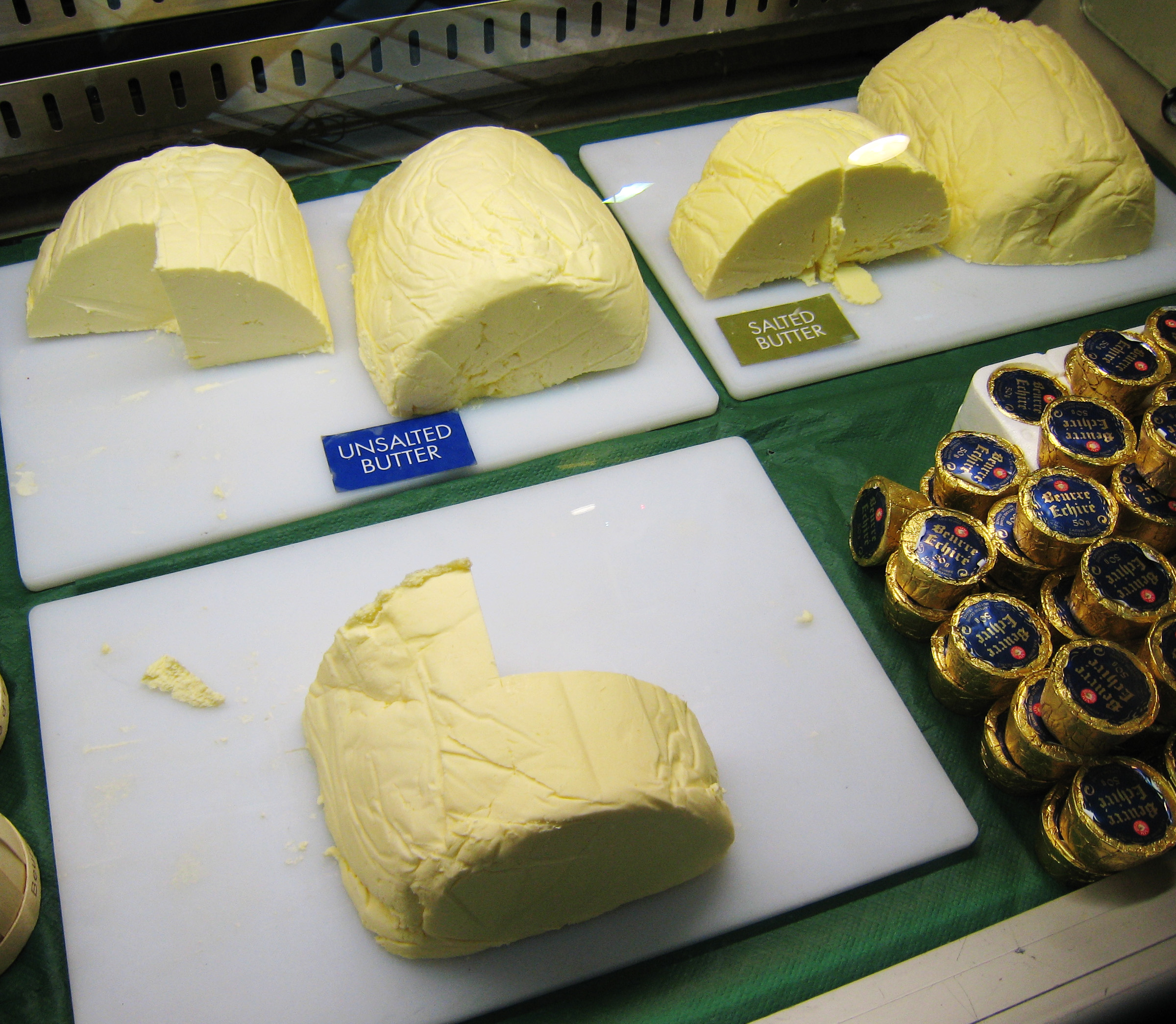 Butter at the Borough Market, London