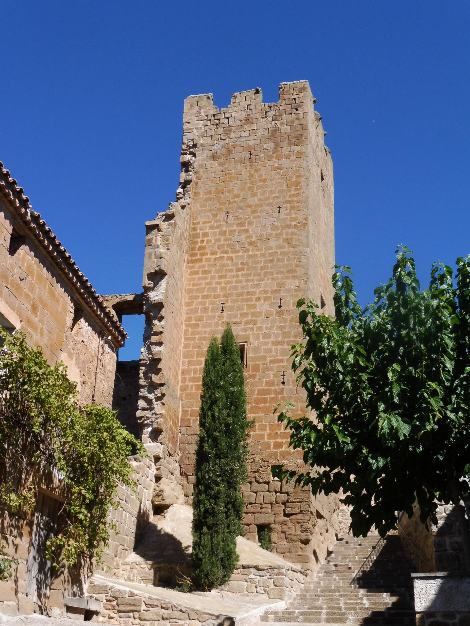 Castell de Montfalcó d'Ossó - Viquipèdia, l'enciclopèdia lliure