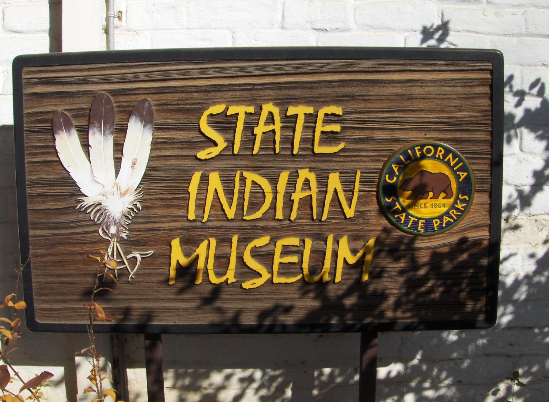 California State Indian Museum plaque.jpg