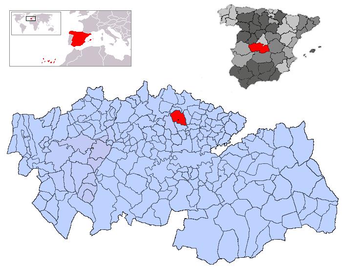 Resultado de imagen de Camarena toledo mapa
