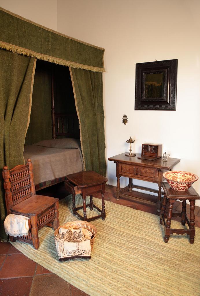 Resultado de imagen de casa museo lope de vega habitaion