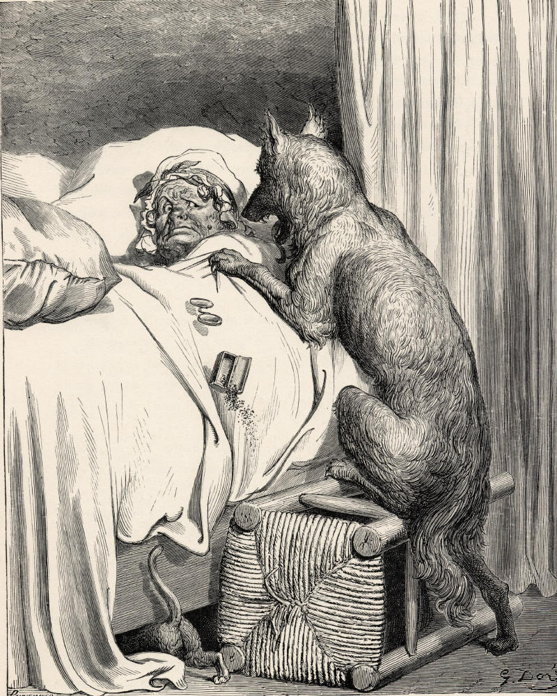 Depiction of Lobo feroz