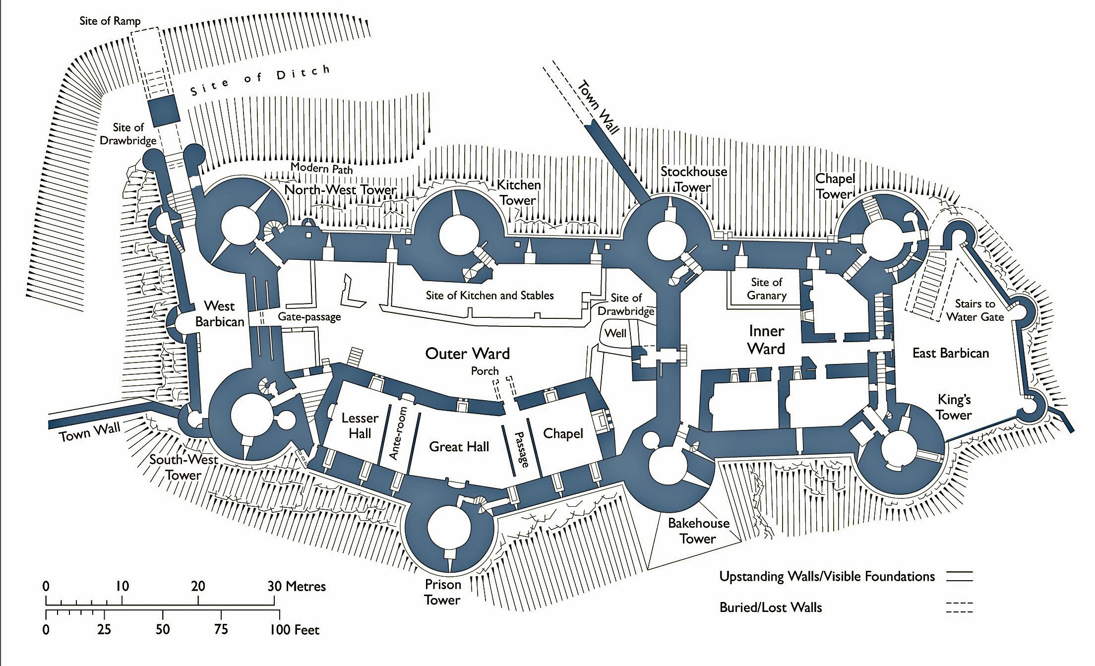 file conwy castle plan jpg wikimedia commons