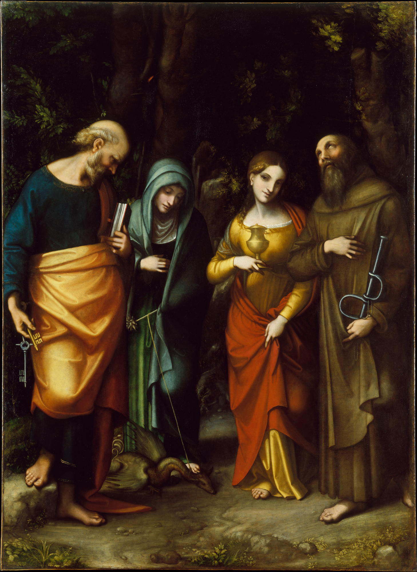Correggio Famous Paintings