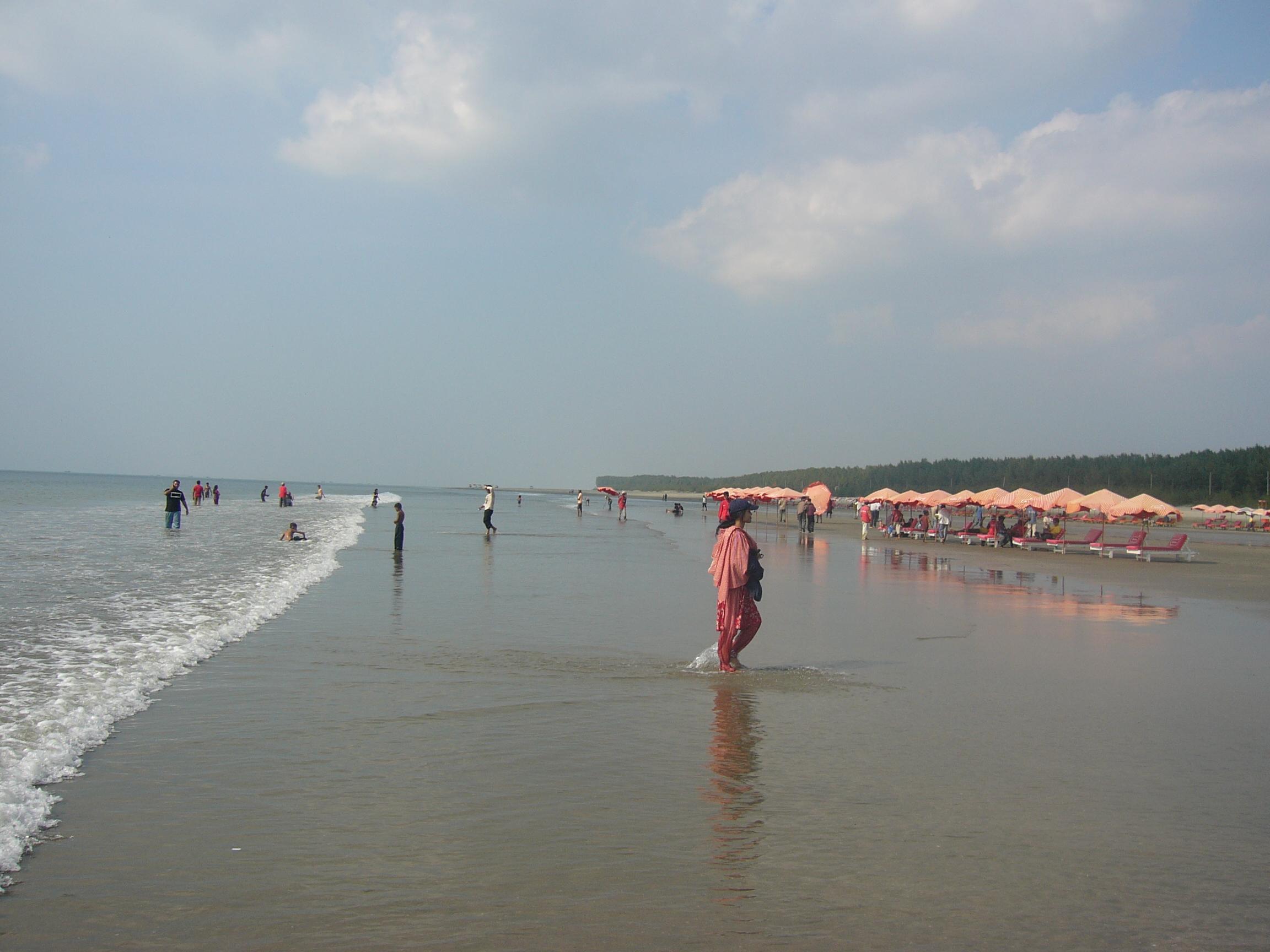 Sea Beach Cox S Bazar Bangladesh