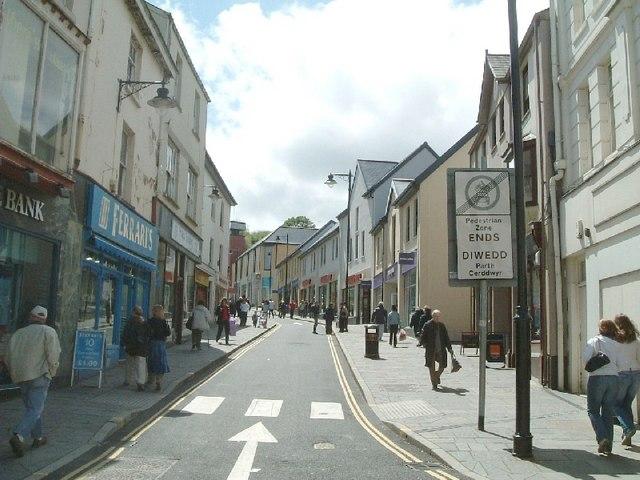 Crane Street, Pontypool - geograph.org.uk - 357790