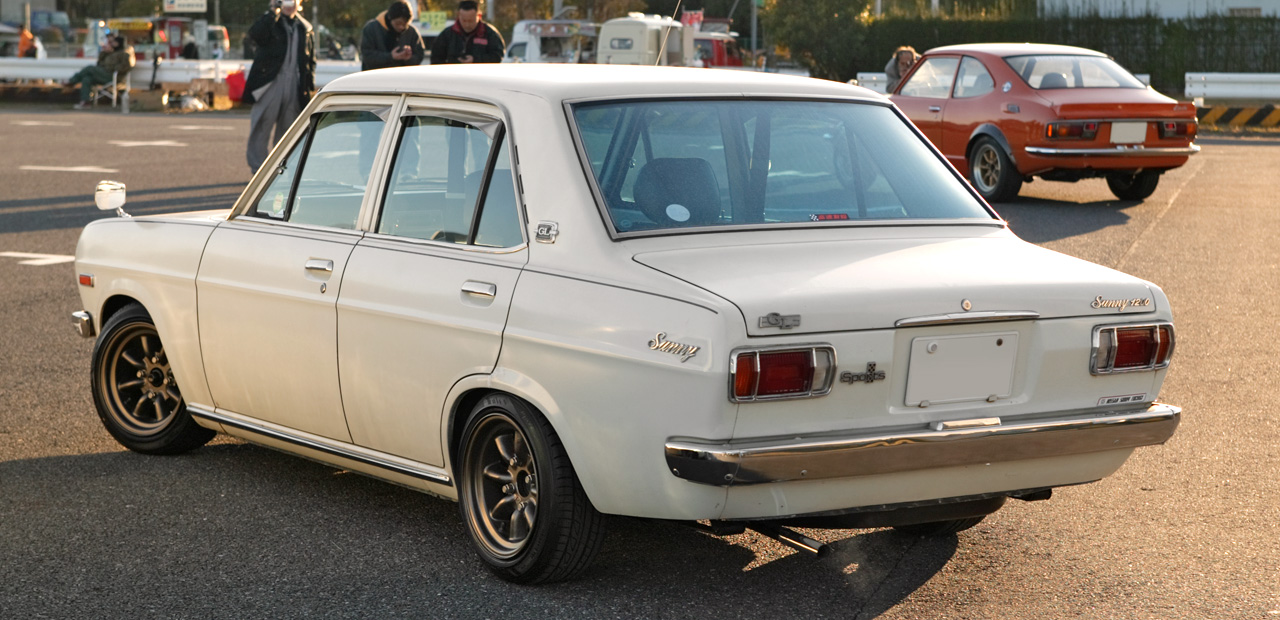 "IMCDb.org: 1970 Datsun 1200 Deluxe [B110] in ""20 10 90, 1974"""