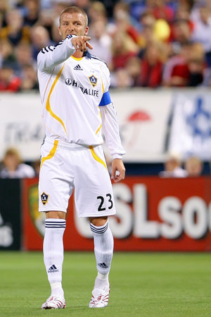 7bb087c0c Beckham during a LA Galaxy game in November 2007