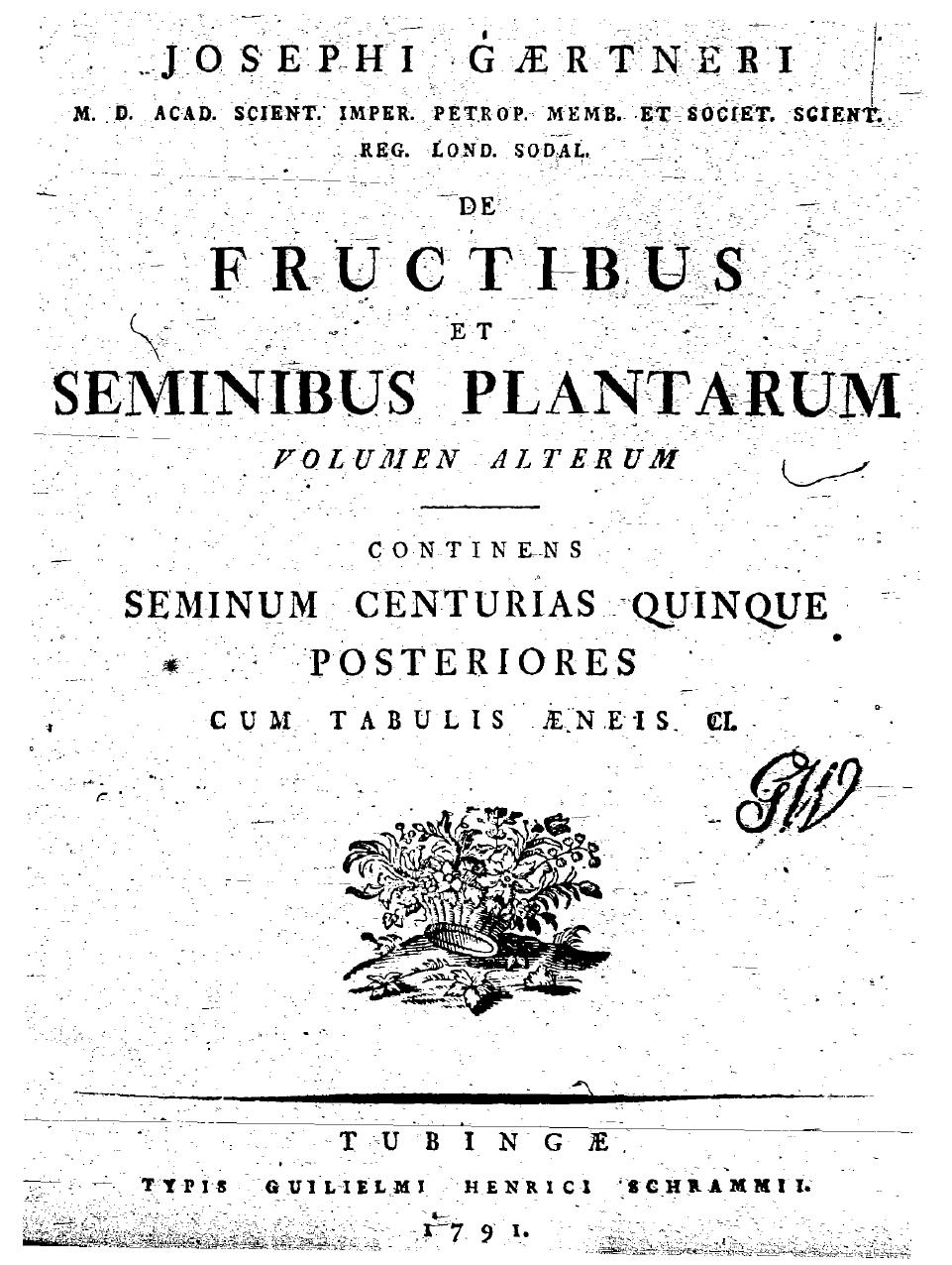 De fructibus et seminibus plantarum online dating