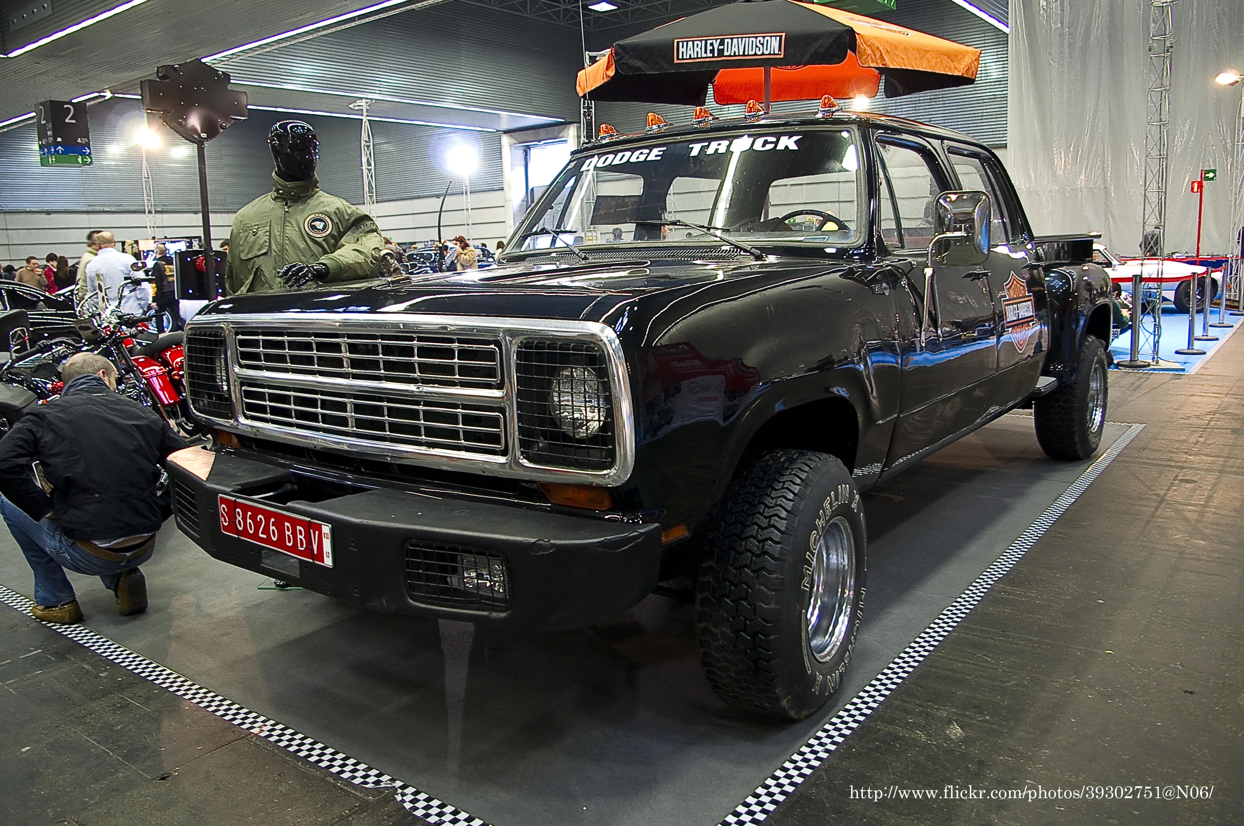 Filedodge Ram Crew Cab Stepside 6637706079 Wikimedia Commons 1980 Dodge Pickup Truck