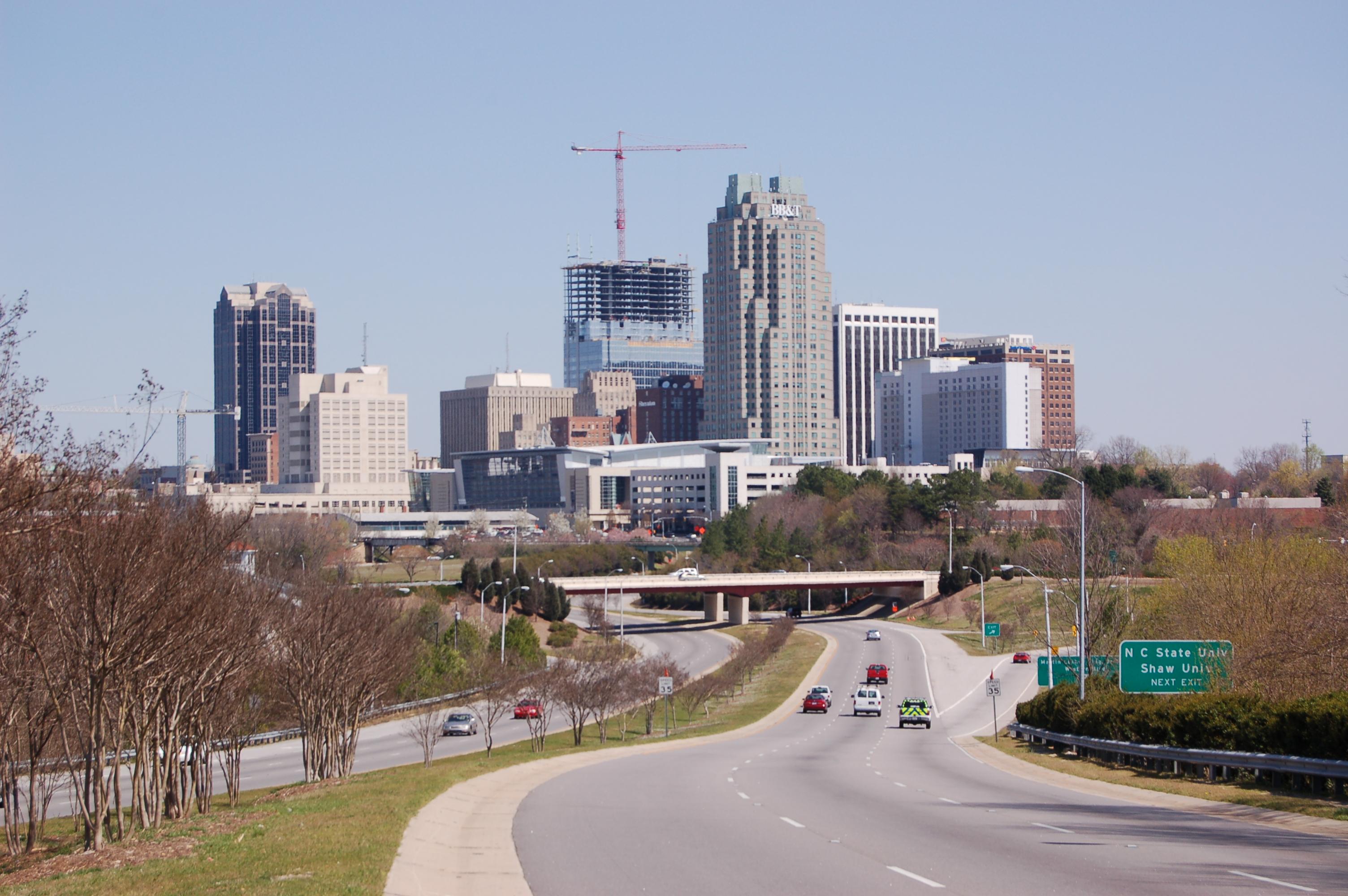Raleigh North Carolina Car Crash