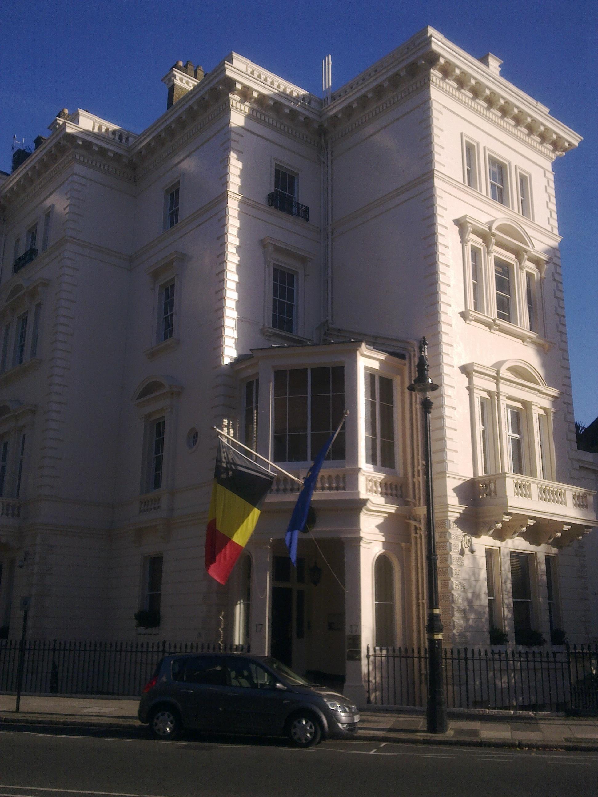 Fileembassy Of Belgium In London  Jpg