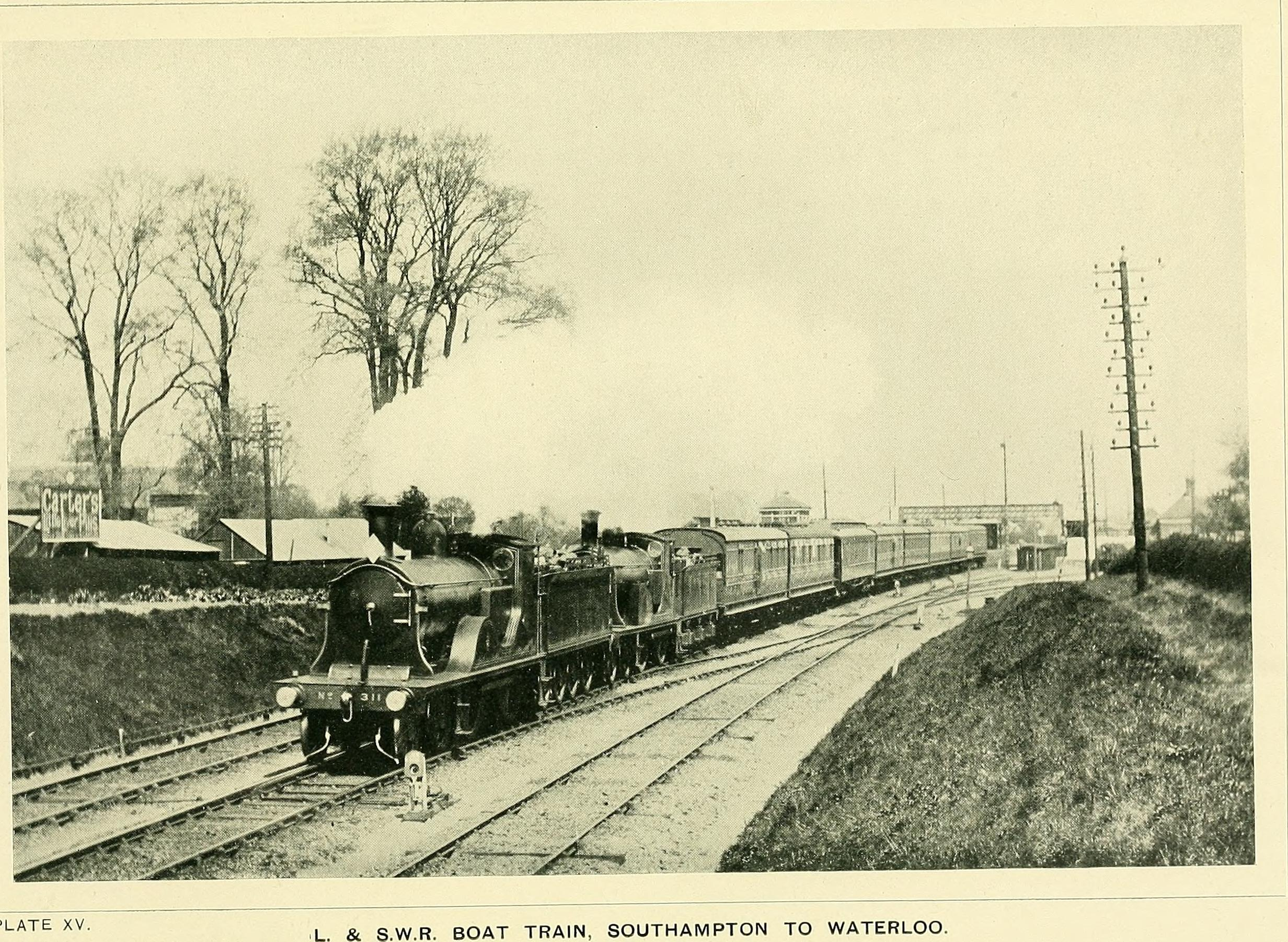Somerset /& Dorset Joint Railway. Templecombe Lower Railway Station Photo 3