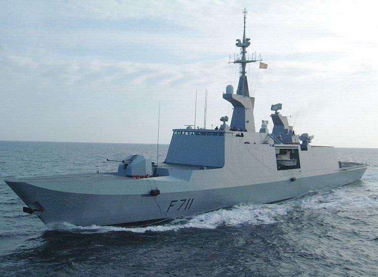 La Fayette-class frigate.