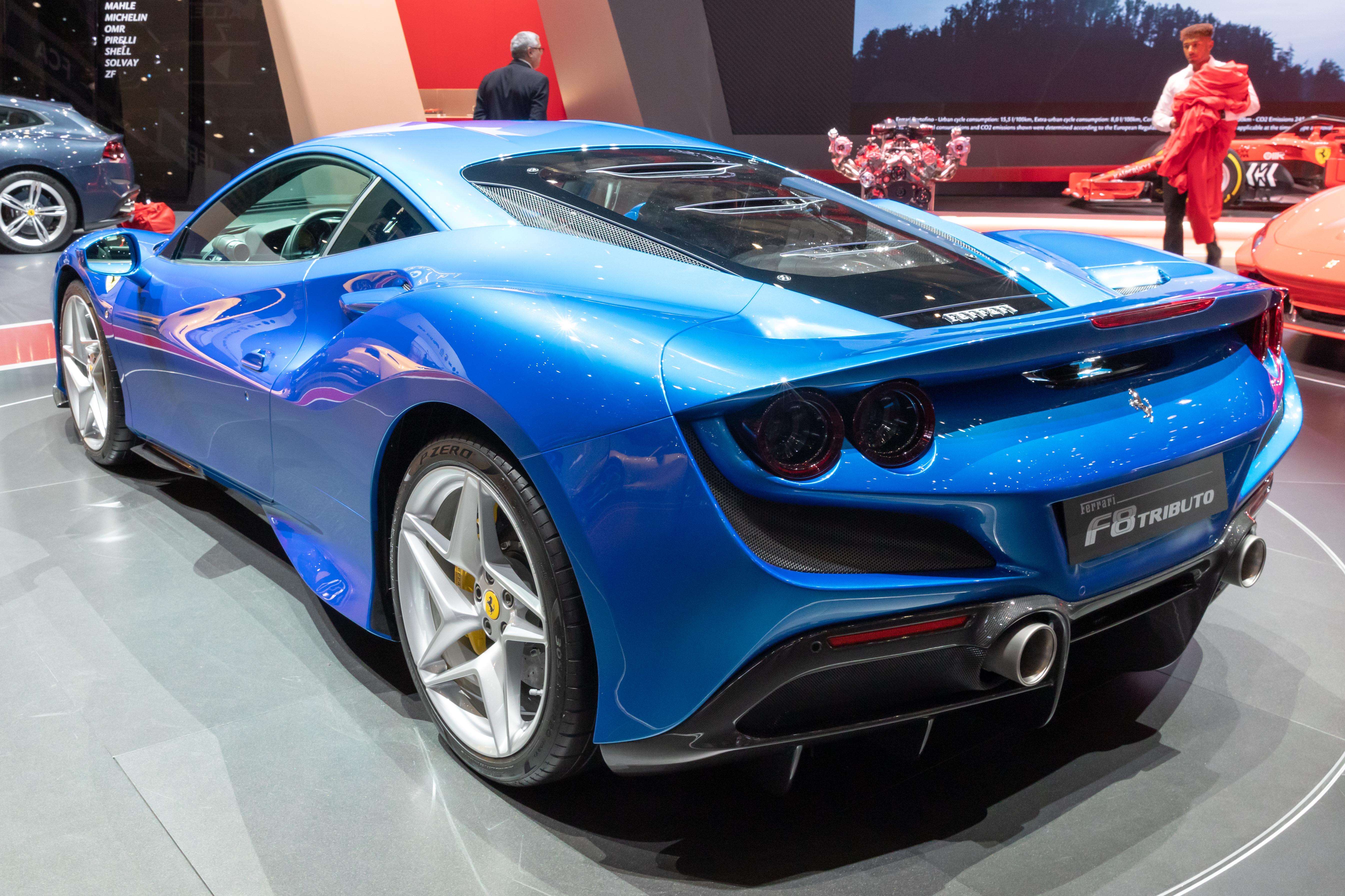 Datei Ferrari F8 Tributo Gims 2019 Le Grand Saconnex Gims1319 Jpg Wikipedia