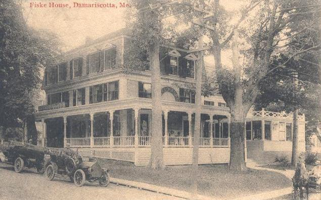 The Fiske House in 1914