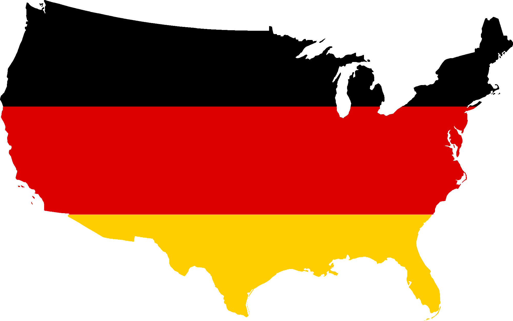 Map Of Germany 2000.File Flag Map Of The United States Germany Png Wikimedia Commons