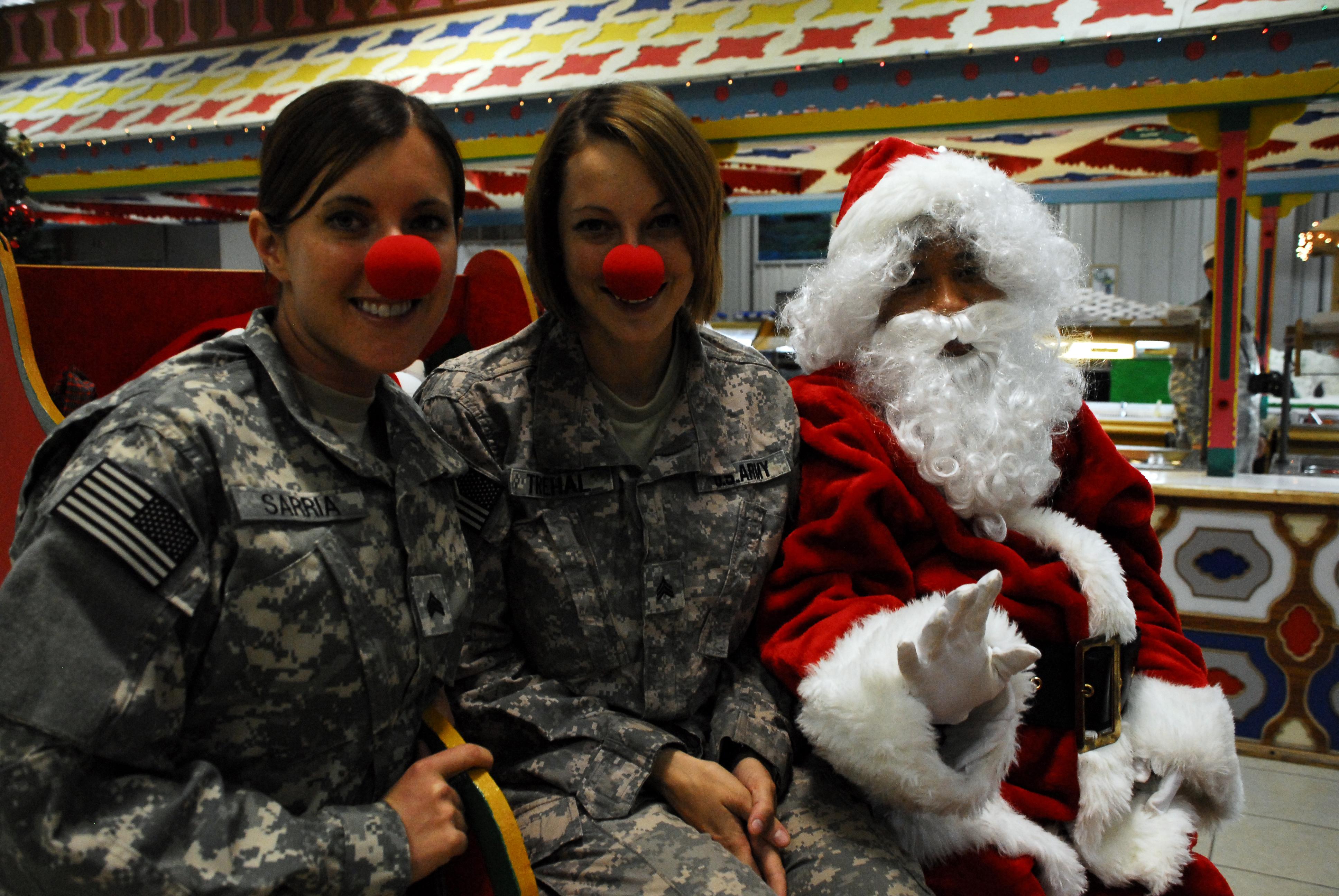 Новый год в армии фото