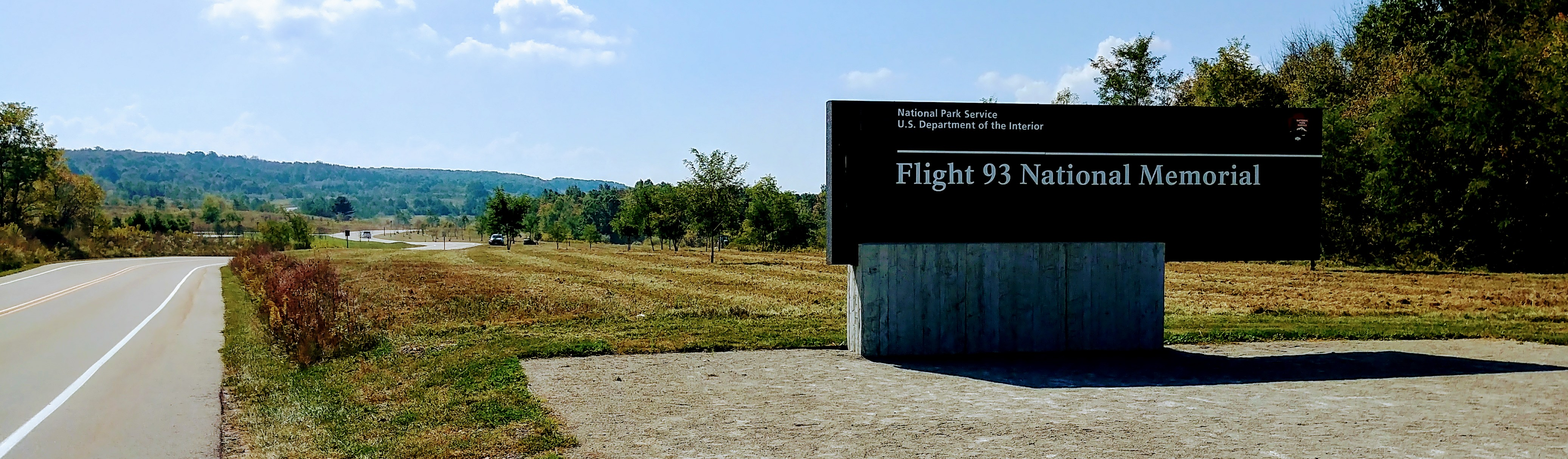 Inngangen til Flight 93 National Memorial i Somerset County. foto: Monumentmike / CC BY-SA