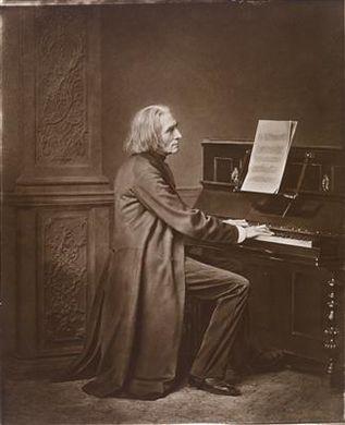 Franz Liszt c1869 by Franz Seraph Hanfstaengl