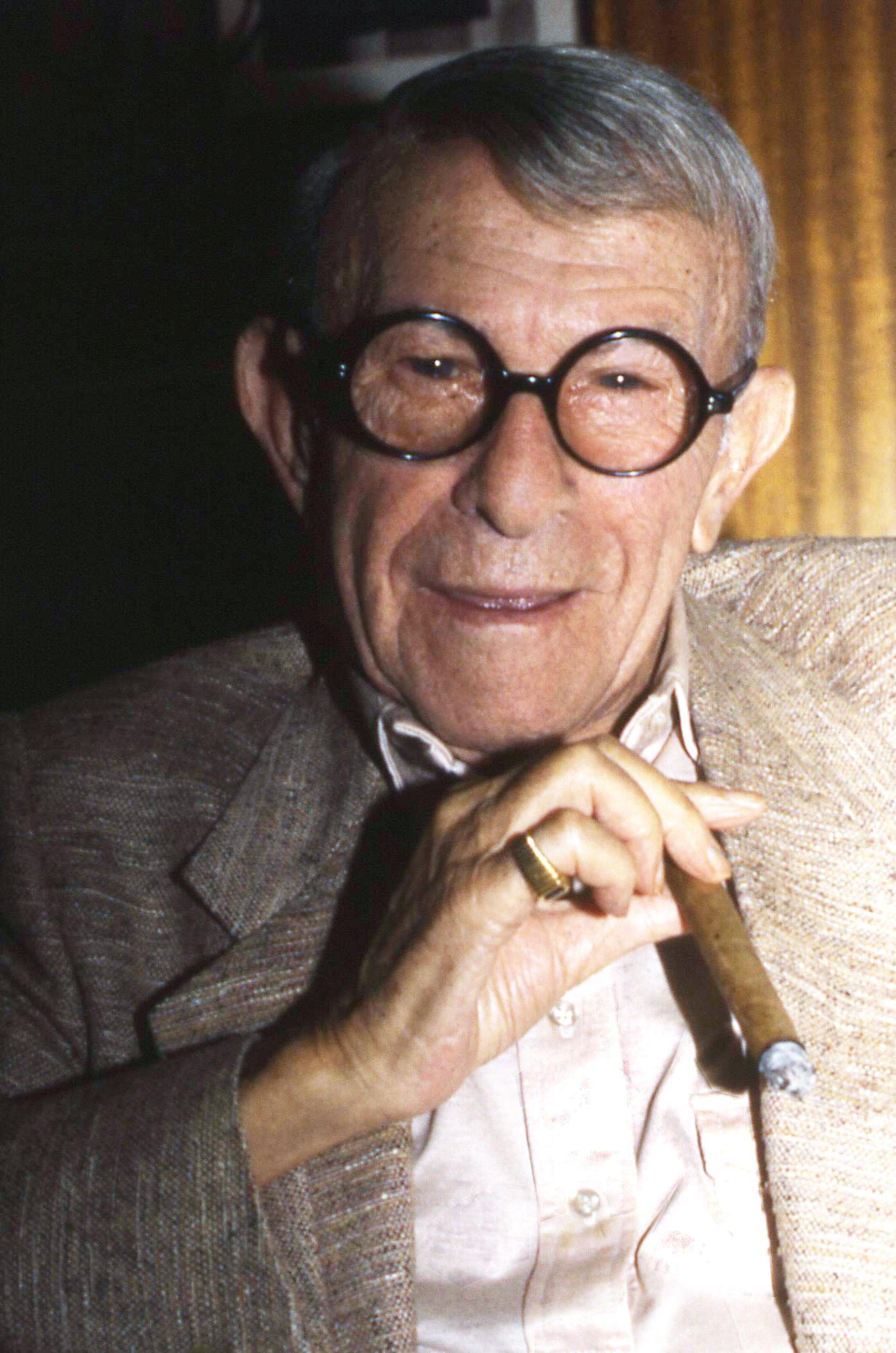 Poet George Burns