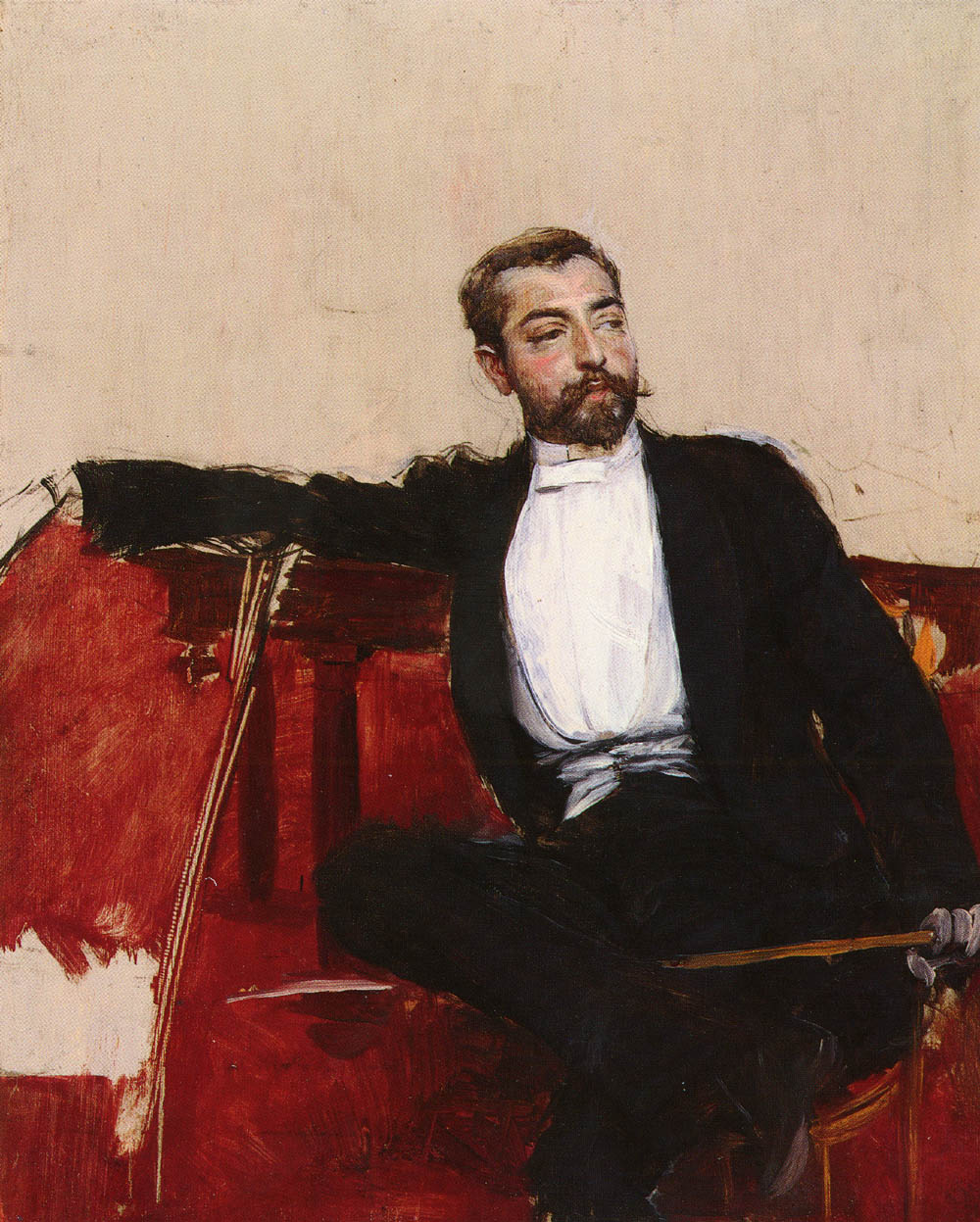 Giovanni boldini 1842 1931 a portrait of john singer sargent