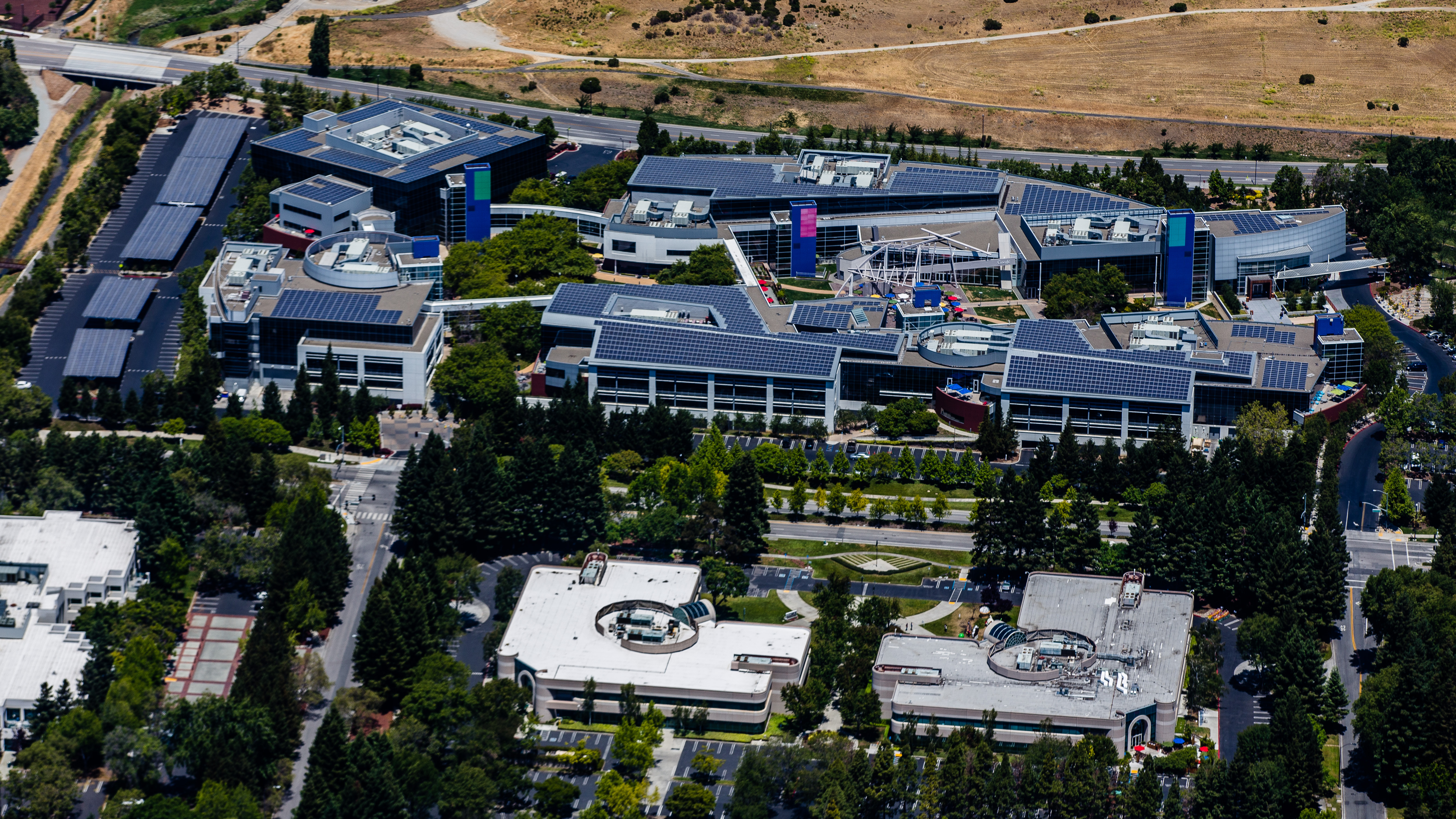 Google Campus Mountain View CA