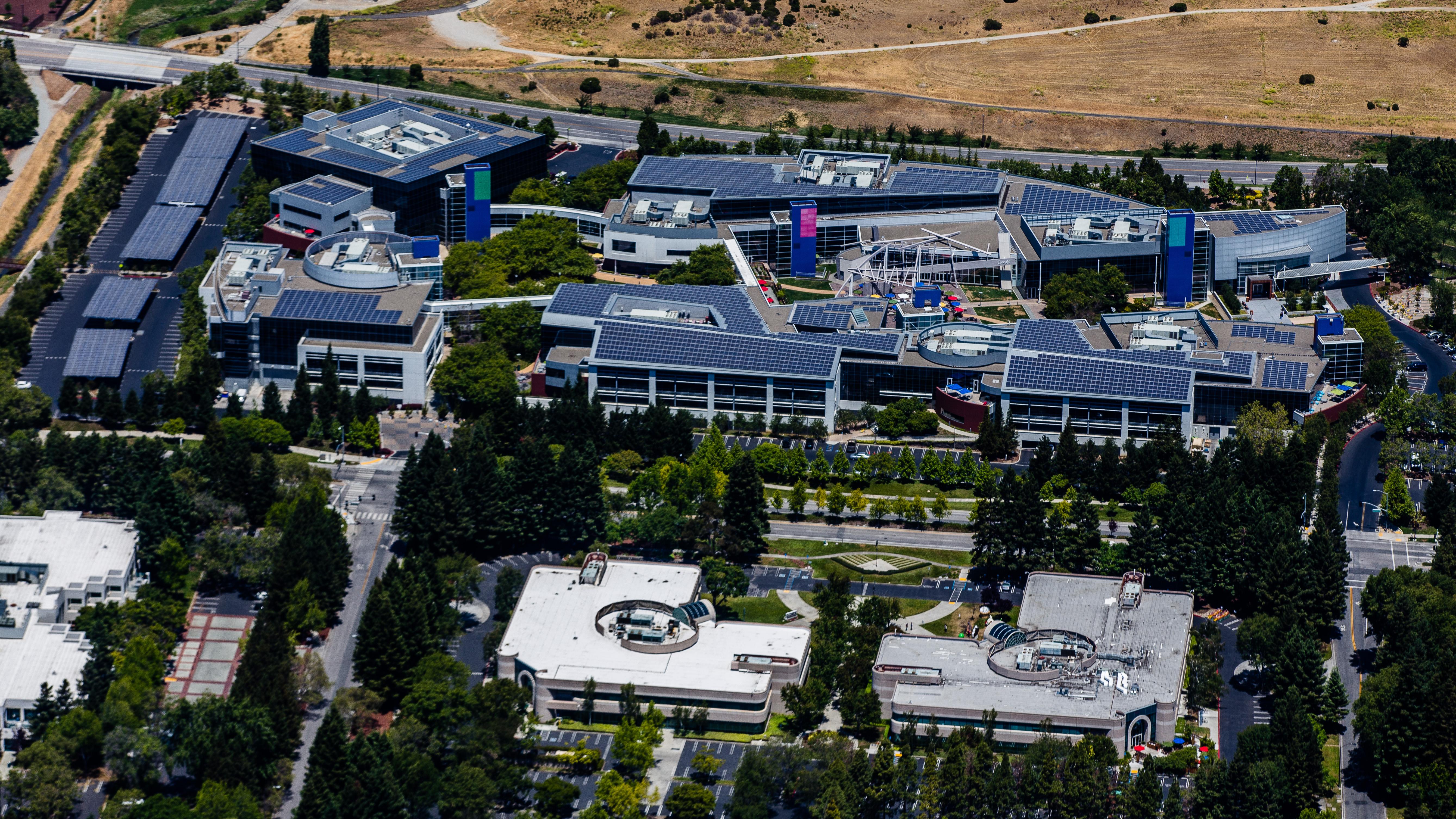 Google Campus Mountain View CA