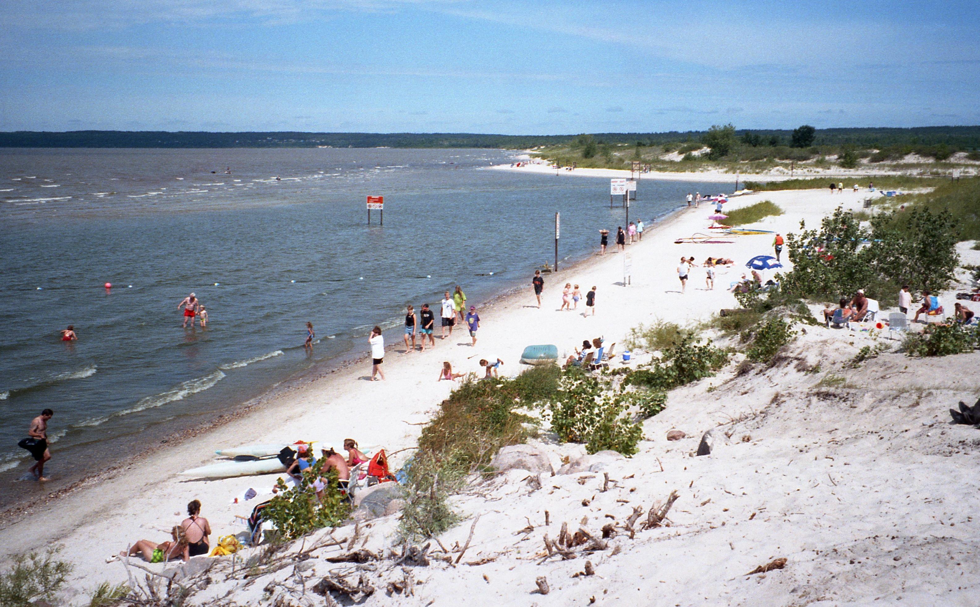 File Grand Beach Lake Winnipeg
