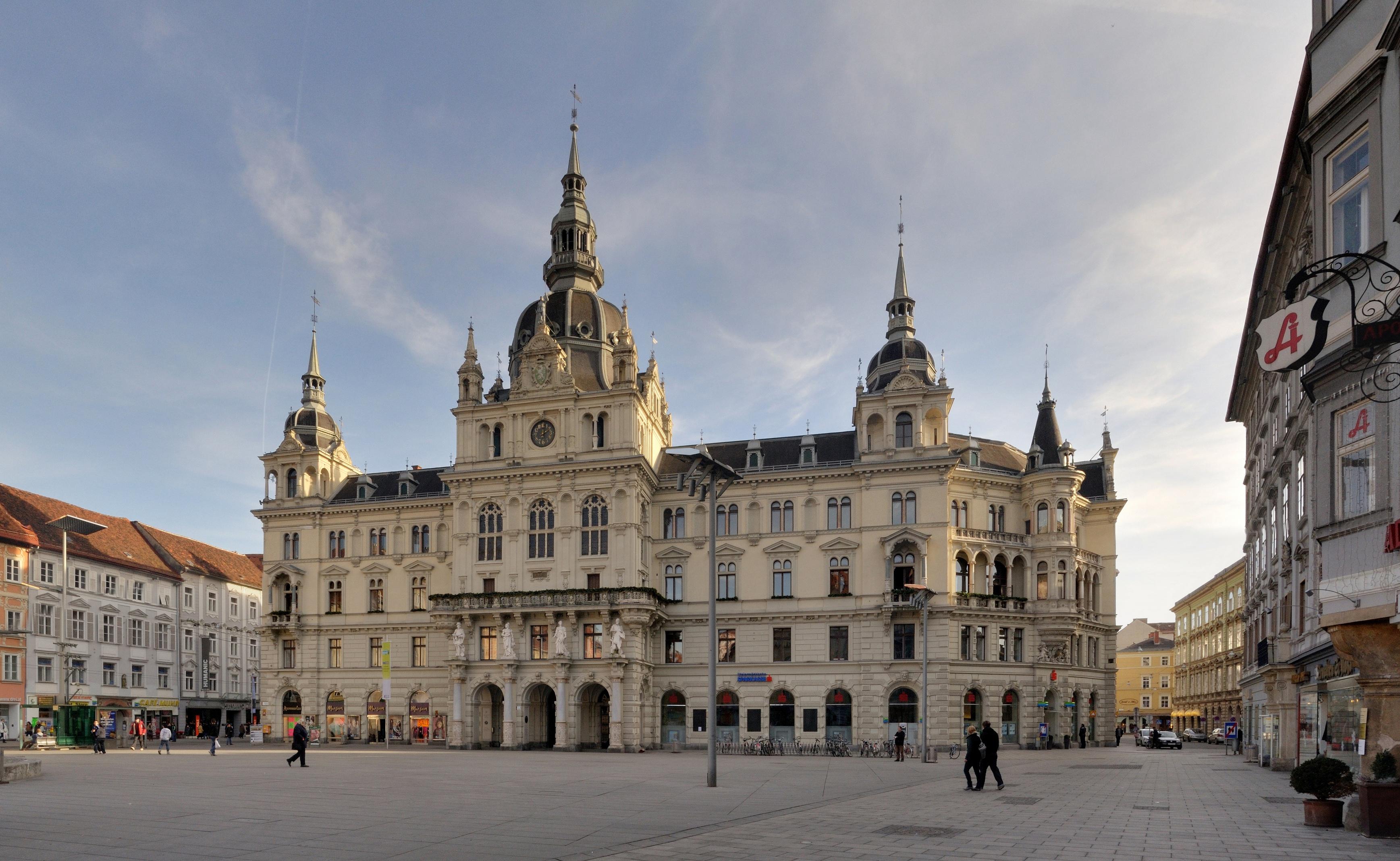 https://upload.wikimedia.org/wikipedia/commons/e/e2/Graz_-_Rathaus2.jpg