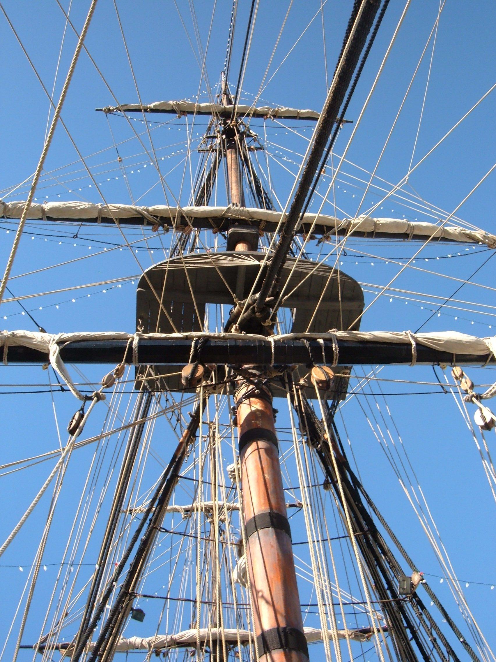 Filehms surprise replica ship mast 3g wikimedia commons filehms surprise replica ship mast 3g sciox Gallery