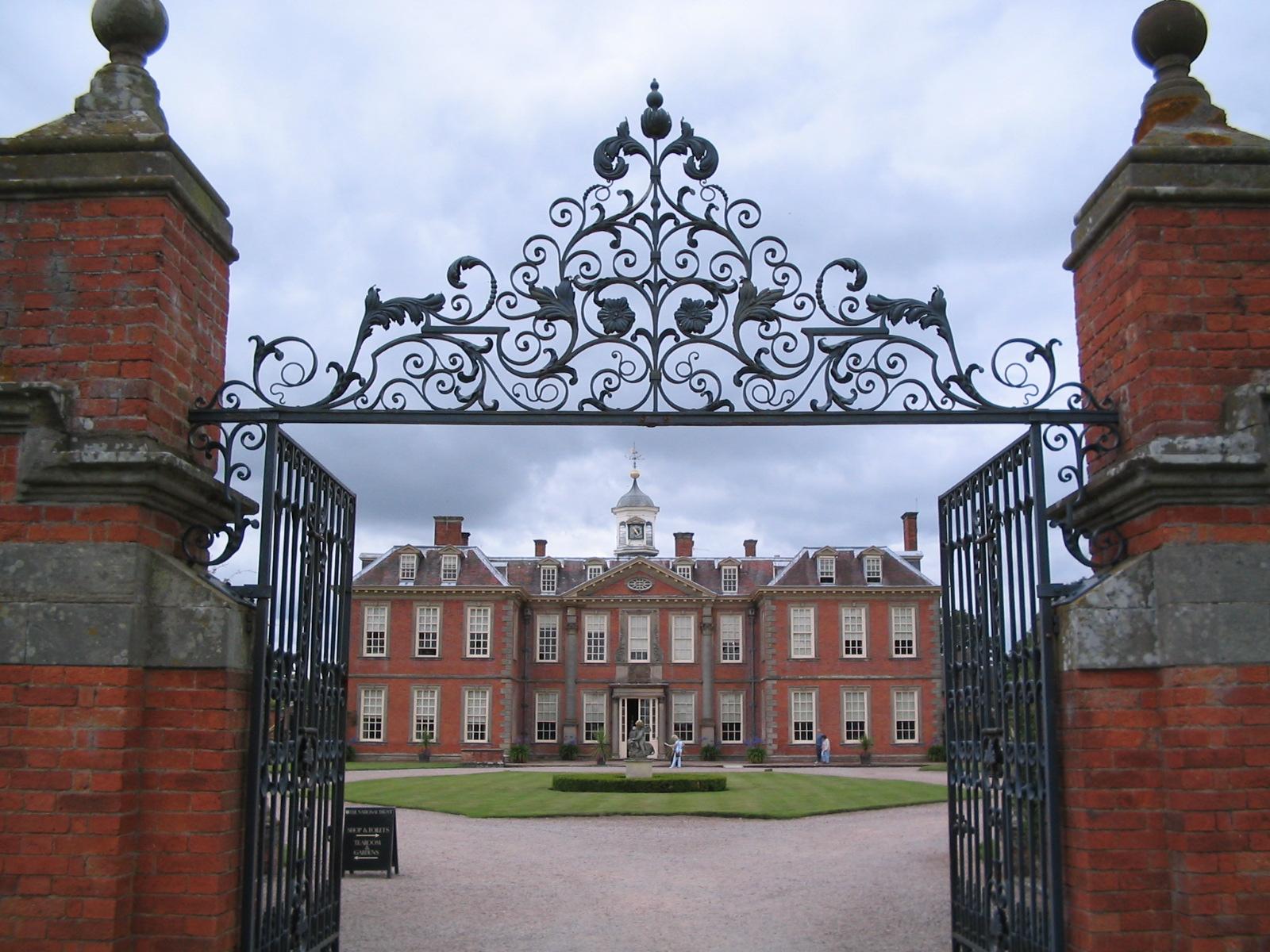 Hanbury Hall Orangery Hanbury Hall as Seen Through