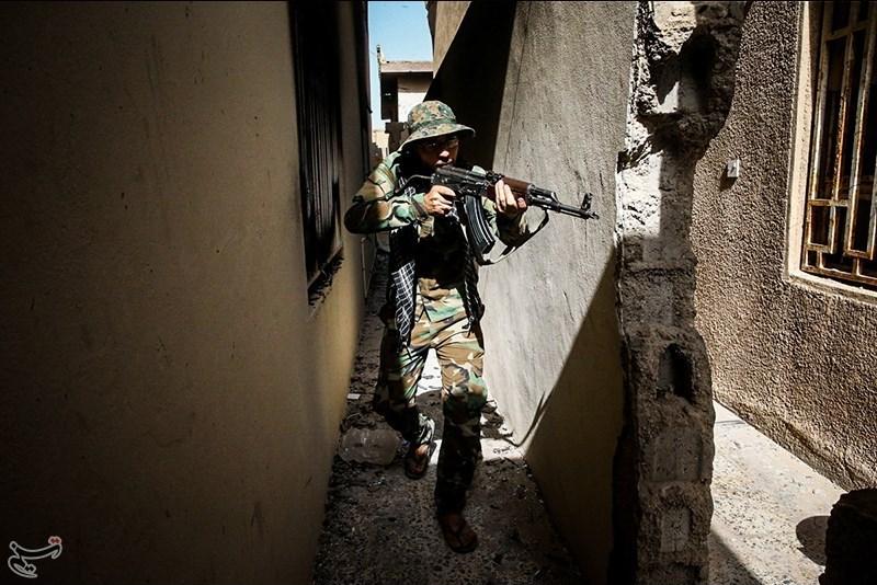 Ein Hashd al-Shaabi-Kämpfer