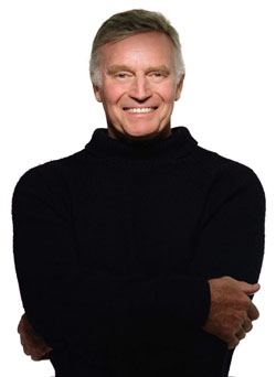 Charlton Heston photographed for Vanity Fair m...